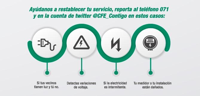 descargar recibos CFE en línea